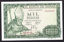 Spain  1000 Pesetas 19-11-1965  VF   P. 151,   Banknote, Circulated