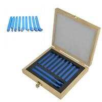 11pcs 8/10/12mm Lathe Tools Carbide Set Bits for mini Lathe Cutting Tool Turning