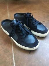 vince leather shoes slip ons sz. 8