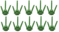 ☀️Lego City x10 Green Flower Stem Lot Plant Grass Garden Field Minifigure NEW