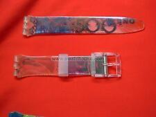SWATCH CINTURINO strap armband ORIGINAL x gent FRANCO - GG110 - 1991 NUOVO