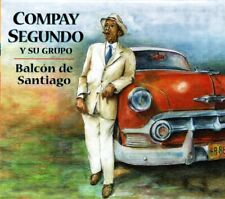 Compay Segundo Balcon de Santiago(Digipak) Spain Imported   BRAND  NEW SEALED CD