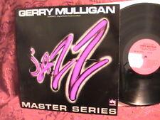 UNPLAYED MINT LP MASTER SERIES GERRY MULLIGAN DAVE GRUSIN DEREK SMITH JACK SIX