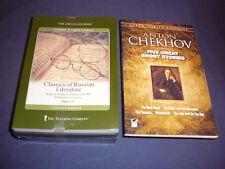 Teaching Co Great Courses CDs      CLASSICS of RUSSIAN LITERATURE    new + BONUS