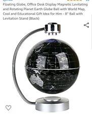 Black Floating Globe