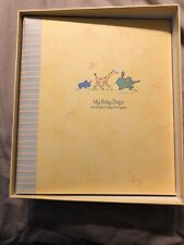 My Busy Days John Lennon Baby Memory Book Scrapbook Carters/C.R. Gibson - Nib
