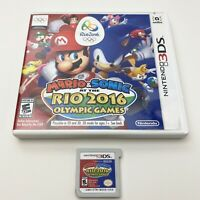 Mario and Sonic at the Rio 2016 Olympic Games Nintendo 3DS w/Case Tested&Works