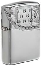 Zippo Windproof Armor Zipper Design Lighter All Sides Engraved, 29674 New In Box