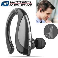 Noise Reduction Wireless Bluetooth Earphone Headset Earpiece Universal Usa