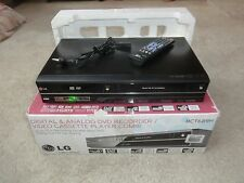 LG rct689h Dvd-Recorder/VHS-lettore video, in scatola originale, nuovo laser, 2j. GARANZIA