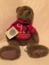 Boyds Bears Plush Varsity Bear...signed by Gary. VERY RARE!