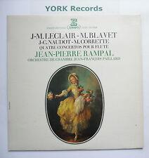 STU 70604 - LECLAIR / BLAVET / NAUDOT / CORRETTE - Flute Concertos -Ex LP Record