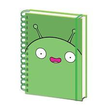 Genuine Final Space Mooncake A5 Wiro Hardback Journal Notebook Pad Adult Swim