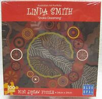 Linda Smith SNAKE DREAMING 100 Piece Jigsaw Puzzle - New In Original Shrink Wrap