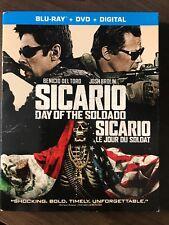 Sicario: Day of The Soldado Blu-ray + DVD w Slipcover Bilingual Canadian LOOK