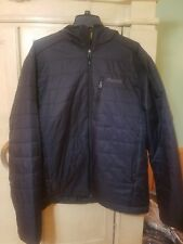 NEW MARMOT COLDEN HOODED JACKET Men's XL Black Primaloft Insulated Puffer NWT!