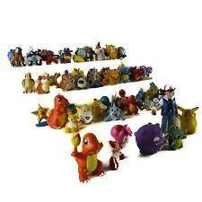 Pokemon Takara Tomy Figure Lot Nintendo Plastic Vinyl  Figure Mixed