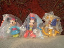 1993 Disney Mickey and Friends McDonald's Happy Meal Toy Set of 3 Epcot Center