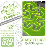 Quilting Patchworks Templates Acrylic Rulers Home Sewing Machine Quilting Rulers