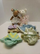 Angelina Ballerina with two dolls (clothes included)