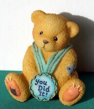 """Cherished Teddies - """"You Did It"""" Mini Figurine - NEU"""
