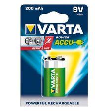 1 batteria pila Transistor 9V ricaricabile VARTA 9 Volt E-Block 200mAh 56722