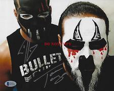 Tama Tonga Tanga Loa Signed 8x10 Photo  New Japan Pro Wrestling Bullet Club 2 rp