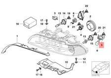 Genuine BMW E39 Sedan Wagon Front Bulb Socket For Turn Signal OEM 63126908408