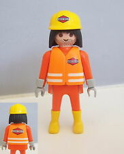 PLAYMOBIL (Q222) CHANTIER - Ouvrier Construct Superset Travaux 3126