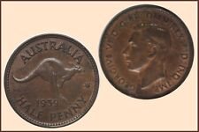 Halfpenny 1939 'Roo'   traces of Lustre ... EF