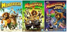 The Complete Madagascar 1-3 DVD Collection 3 DIscs Jada Pinkett Brand New 1 2 3