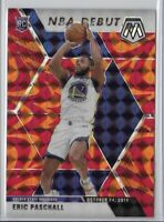 2019-20 Mosaic Eric Paschall Orange NBA Debut Rookie SP No. 272