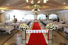 JUST MARRIED Wedding Banner Party Decorations Bunting Garland