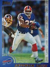 NFL 135 antowain Smith Buffalo Bill TOPPS 2000