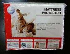 Sleep Harmony Mattress Protector Full Waterproof Terrycloth Glideaway 10 year