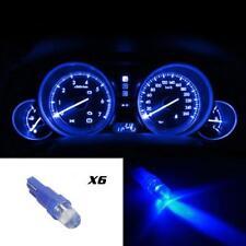 6xT5 37 73 74 2721 Blue Instrument Cluster Panel Gauge Dash LED Bulbs Light