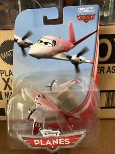 Disney Pixar Planes Movie Rochelle Die-Cast Mattel Toy Aircraft World Of Cars