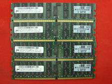 4x 4gb 16gb RAM 2rx4 ECC DIMM registered memoria 800 MHz ddr2 pc2-6400p reg