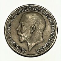 1918 KN Great Britain Penny, George V, KM# 810, VF  #2669