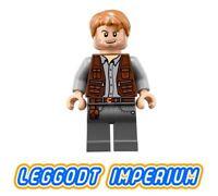 LEGO Minifigure QTY 1 No jw030 Jurassic World // Park Tim Murphy