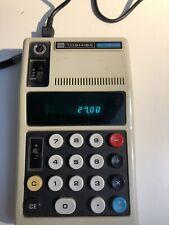 Vintage Toshiba BC-0804b desktop calculator