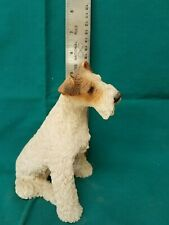 New listing Wire Fox Terrier figurine Made in Italy 1988 Castagna