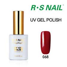 RS NAIL Gel  Nail Polish UV LED Soak Off Hybrid Manicure ALL COLOURS Varnish NEW
