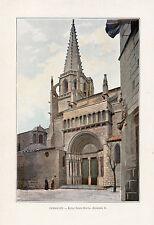13 TARASCON EGLISE SAINTE MARTHE IMAGE COULEUR 1903