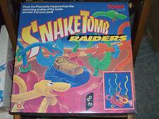 80'S VINTAGE TOMY BOARD GAME SNAKE TOMB RAIDERS MIB #7063