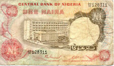 NIGERIA 1 N  état voir scan 311