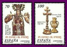 ESPAÑA 2000 3700/1 Edades del Hombre 2v.