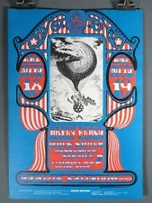 The Daily Flash, Country Joe & The Fish, Vintage Poster