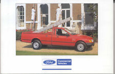 Ford P 100 2 Litre Pick Up Factory issued postcard FB 1527