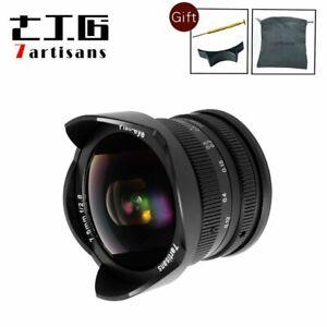 7artisans 7.5mm F2.8 Manual Focus Wide Angle Fisheye Lens for Fujifilm Fuji FX